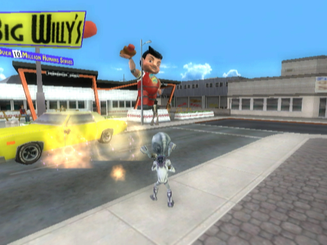 Pantallazo de Destroy All Humans! Big Willy Unleashed para Wii