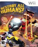 Caratula nº 116389 de Destroy All Humans! Big Willy Unleashed (727 x 1024)