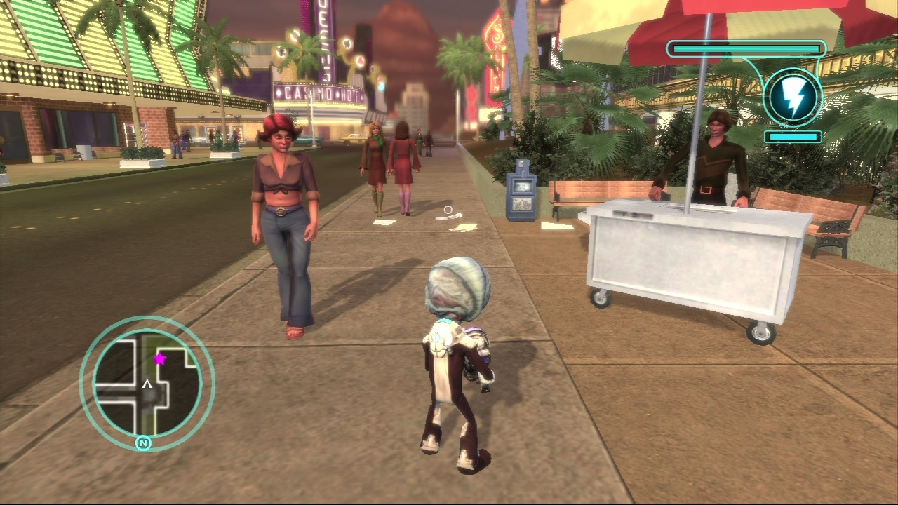Pantallazo de Destroy All Humans! El Camino del Recto Furon para PlayStation 3