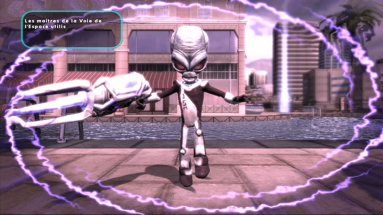 Pantallazo de Destroy All Humans! El Camino del Recto Furon para Xbox 360