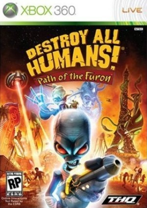 Caratula de Destroy All Humans! El Camino del Recto Furon para Xbox 360