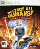 Caratula nº 149273 de Destroy All Humans! El Camino del Recto Furon (500 x 710)