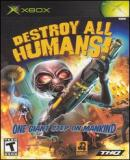 Carátula de Destroy All Humans!