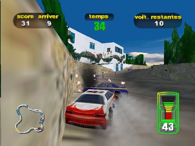 Pantallazo de Destruction Derby 64 para Nintendo 64