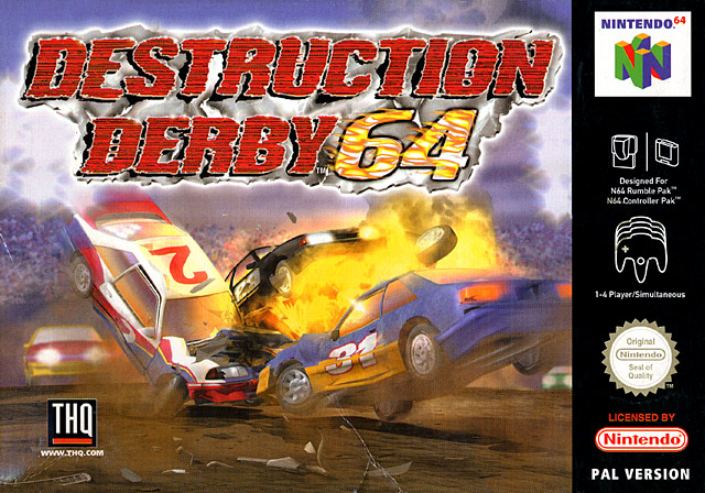 Caratula de Destruction Derby 64 para Nintendo 64