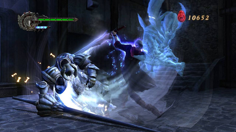 Pantallazo de Devil May Cry 4 para PC