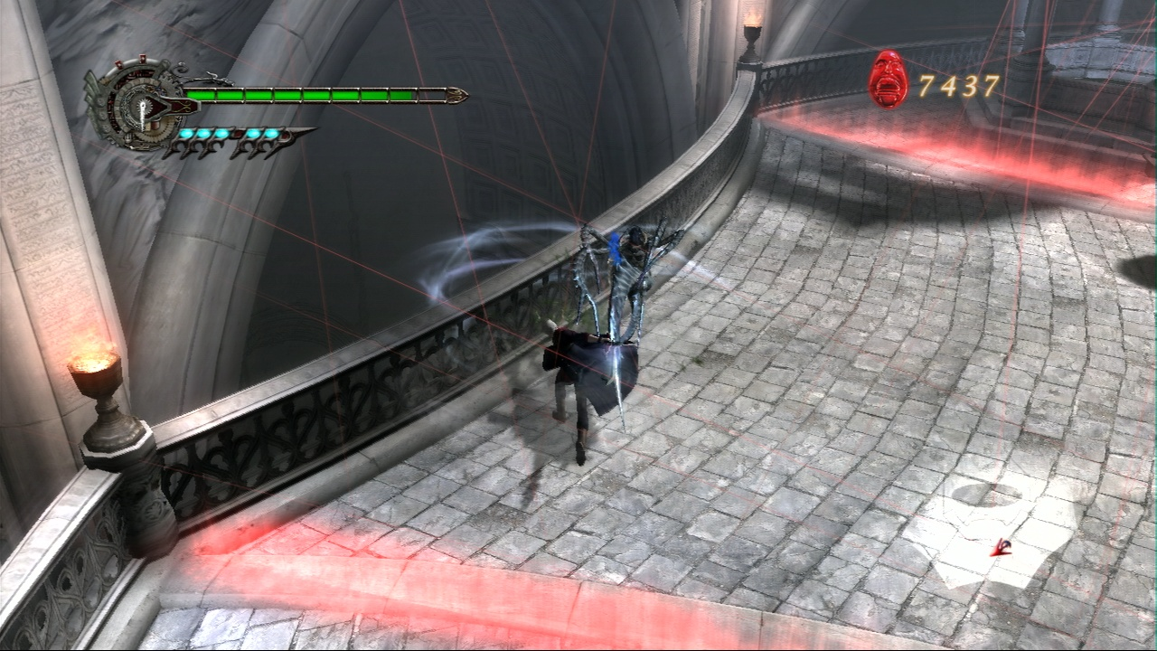 Pantallazo de Devil May Cry 4 para PlayStation 3