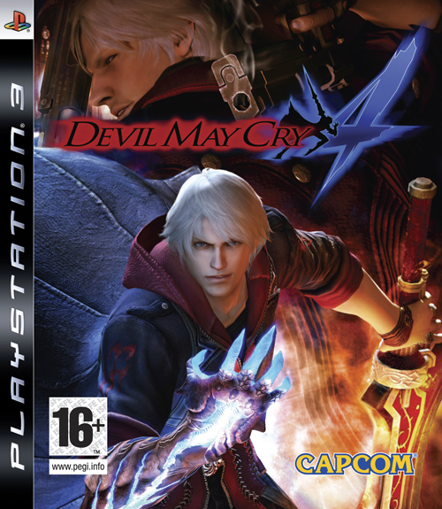 Caratula de Devil May Cry 4 para PlayStation 3