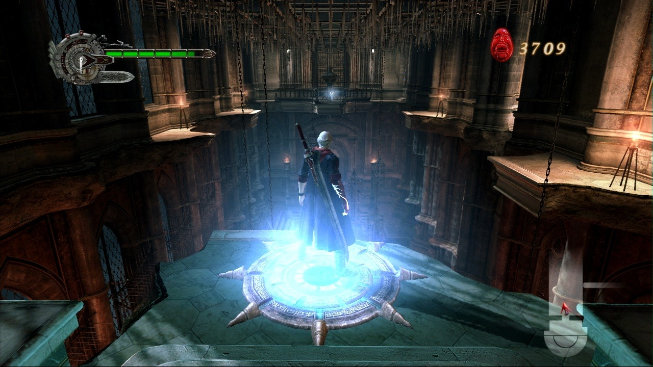 Pantallazo de Devil May Cry 4 para Xbox 360
