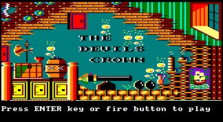 Pantallazo de Devil's Crown, The para Amstrad CPC