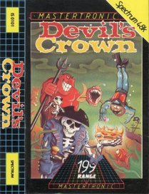 Caratula de Devil's Crown, The para Spectrum