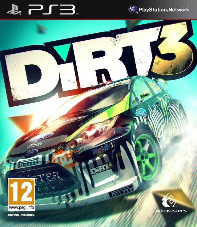 Caratula de DiRT 3 para PlayStation 3