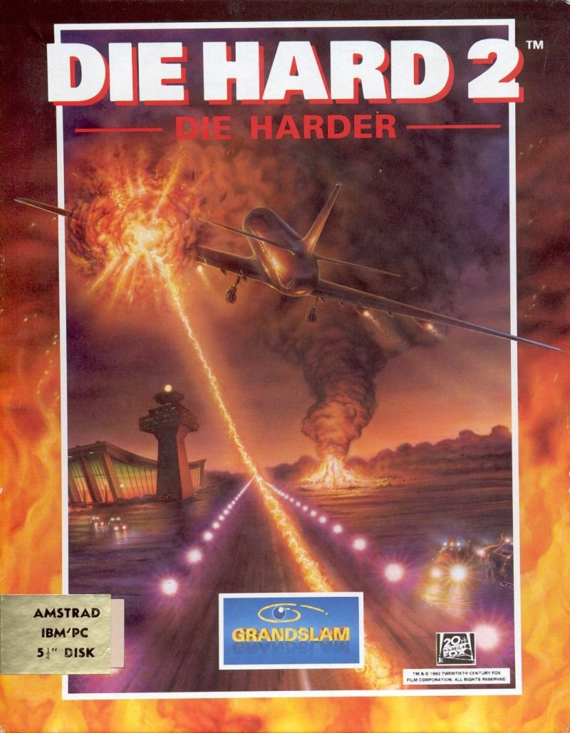 Caratula de Die Hard 2: Die Harder para PC