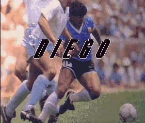 Caratula de Diego Maradona World Football Manager para Amiga
