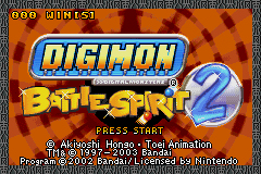 Pantallazo de Digimon: BattleSpirit 2 para Game Boy Advance