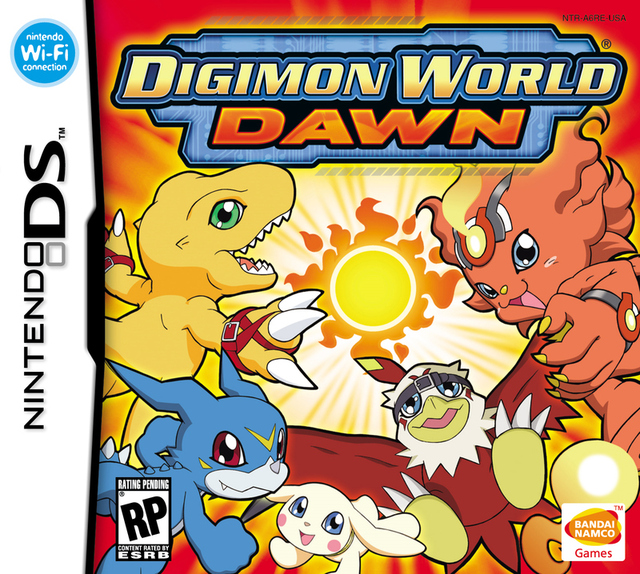Caratula de Digimon World: Dawn para Nintendo DS