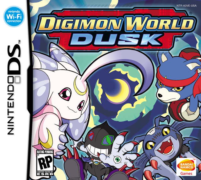 Caratula de Digimon World: Dusk para Nintendo DS