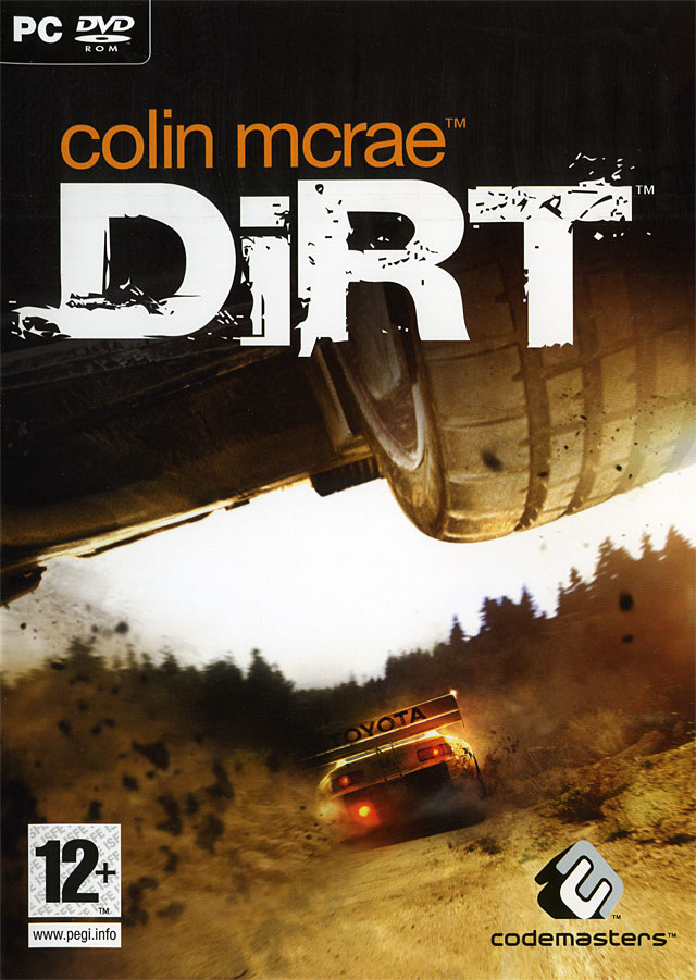Caratula de Dirt: Colin McRae Off-Road para PC