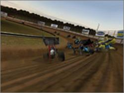 Pantallazo de Dirt Track Racing: Sprint Cars para PC