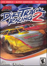Caratula de Dirt Track Racing 2 para PC