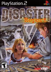 Caratula de Disaster Report para PlayStation 2