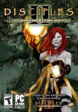 Caratula de Disciples II: The Rise of the Elves para PC