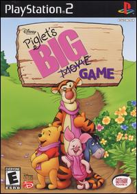 Caratula de Disney Presents Piglet's BIG Game para PlayStation 2
