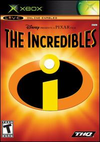Caratula de Disney Presents a Pixar Film: The Incredibles para Xbox
