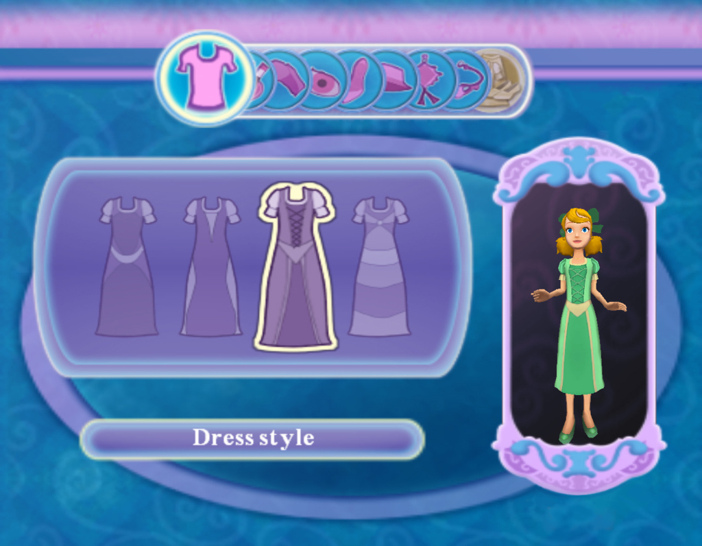 Pantallazo de Disney Princess: Enchanted Journey para PlayStation 2