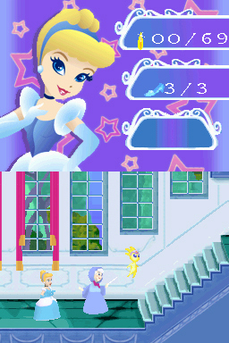 Pantallazo de Disney Princess: Magical Jewels para Nintendo DS