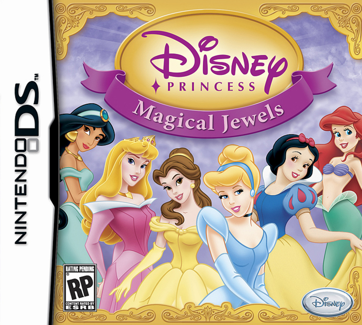 Caratula de Disney Princess: Magical Jewels para Nintendo DS