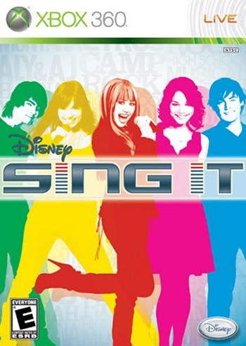 Caratula de Disney Sing it para Xbox 360