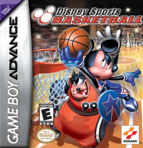 Caratula de Disney Sports Basketball para Game Boy Advance