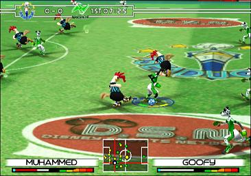 Pantallazo de Disney Sports Football para GameCube