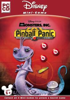 Caratula de Disney/Pixar's Monsters, Inc.: Pinball Panic para PC