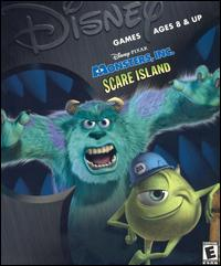 Caratula de Disney/Pixar's Monsters, Inc.: Scare Island para PC