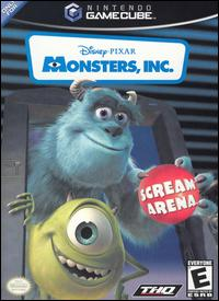 Caratula de Disney/Pixar's Monsters, Inc.: Scream Arena para GameCube