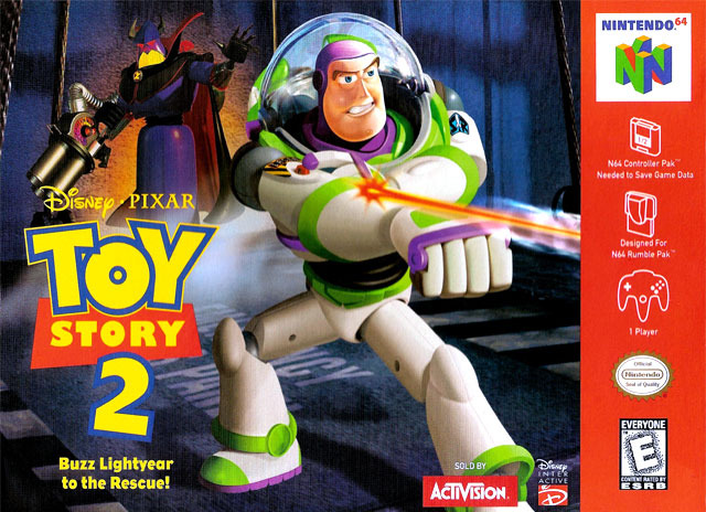 Caratula de Disney/Pixar's Toy Story 2: Buzz Lightyear to the Rescue! para Nintendo 64