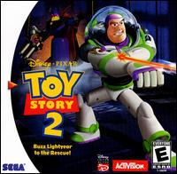 Caratula de Disney/Pixar's Toy Story 2: Buzz Lightyear to the Rescue para Dreamcast
