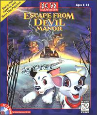 Caratula de Disney's 101 Dalmatians: Escape from DeVil Manor para PC