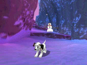 Pantallazo de Disney's 102 Dalmatians: Puppies to the Rescue para Dreamcast