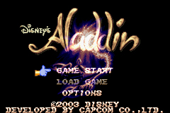 Pantallazo de Disney's Aladdin (Japonés) para Game Boy Advance