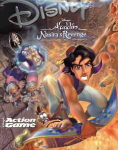 Caratula de Disney's Aladdin in Nasira's Revenge Action Game para PC