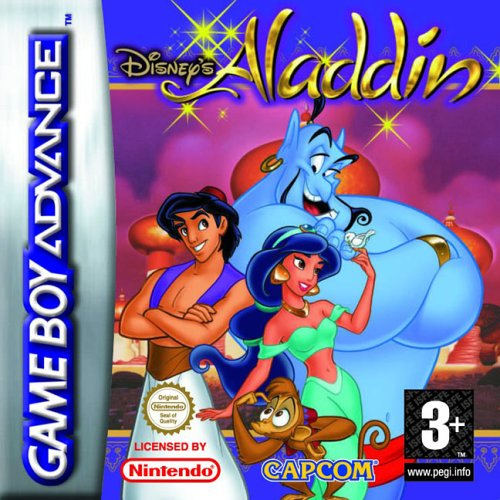 Caratula de Disney's Aladdin para Game Boy Advance