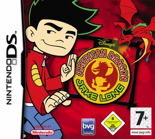 Caratula de Disney's American Dragon: Jake Long, Attack of the Dark Dragon para Nintendo DS