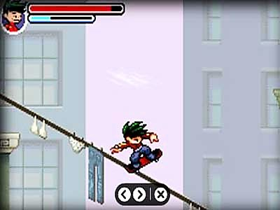Pantallazo de Disney's American Dragon: Jake Long, Rise of the Huntsclan para Game Boy Advance