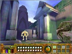 Pantallazo de Disney's Atlantis: The Lost Empire -- Trial by Fire para PC