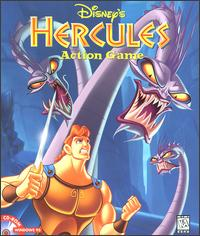 Caratula de Disney's Hercules Action Game para PC