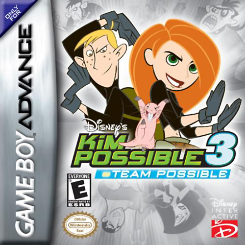 Caratula de Disney's Kim Possible 3: Team Possible para Game Boy Advance
