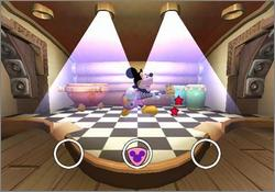Pantallazo de Disney's Magical Mirror Starring Mickey Mouse (Japonés) para GameCube